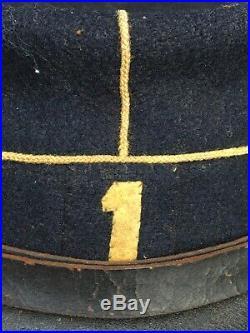 Képi modèle 1884 1e régiment de chasseurs à pieds WW1 1914 1918 1915