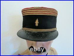 Legion Etrangere Lot Tenue Uniforme Kepi Officier Superieur Maroc Rif 1920/1925