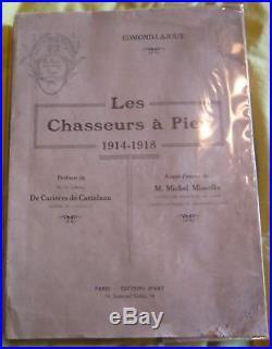Les chasseurs à pied 1914-1918, Edmond-Lajoux
