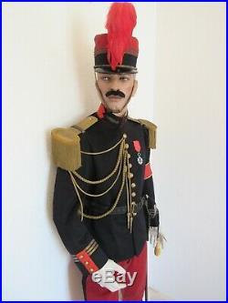 Lot Tenue Uniforme Kepi Grande Tenue A Cheval D'officier D' Etat Major 1914
