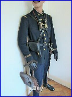 Lot Tenue Uniforme Officier Des Troupes Coloniales 1914