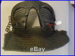 Loup De Tankiste Char De Combat 1918 Tankers Face Mask Helmet Ww1