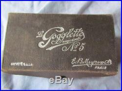 Lunettes D'aviateur Meyrowitz Ww1 La Gogglette N°5