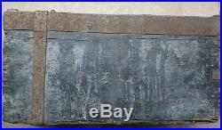 MILITARIA RARE CAISSE EN BOIS MG 08/15 ALLEMANDE MG 24/29 (f) WW2