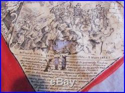 MOUCHOIR D'INSTRUCTION MILITAIRE N°8 1884 / 1914 152eme DE LIGNE