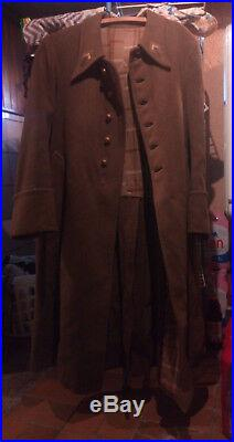 Manteau Légion étrangère Français d'alsace Seconde guerre mondial WW2