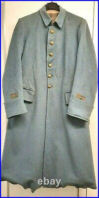 Manteau capote Bleu Horizon de Lieutenant 1914-1918