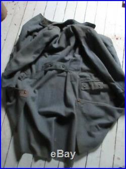 Manteau troupe poilu 1914/18 du 67ème combats Verdun Chemin des Dames