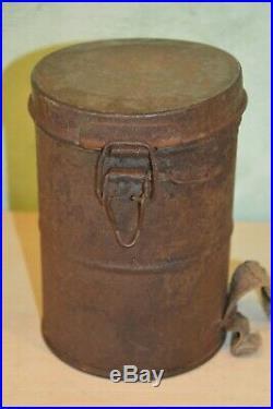 Masque A Gaz Allemand 1917-ledermask 1°ww-german Gasmask 1917. (neutralise)