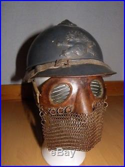 Masque / Loup de tankiste ww1 14-18