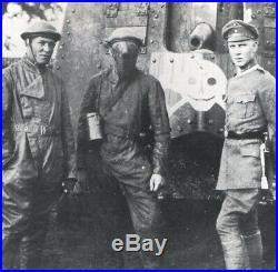 Masque de tankiste TANK MASK WW1 ORIGINAL TANK DRIVERS ANTI-SPLATTER FACE