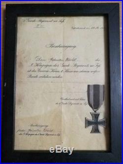Médaille Allemand WW1