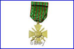 Médaille Croix De Guerre 14/18 Ordonnance Neuve En Écrin 1ere Guerre Mondiale