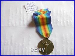 Medaille Interallies-1ere Guerre Mondiale-14/18