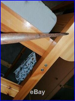 Militaria allemand 14 18 rarissime lance de uhlan avec son fanion prussien
