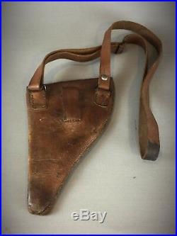 Militaria étui simplifié pour revolver 1892 officier 14/18 modèl 1917 -complet