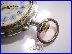 Montre De Gousset Magnien Horlogerie Militaire
