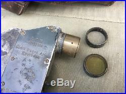 Optique zf 12 pour MG 08/15 avec étui cuir 14/18