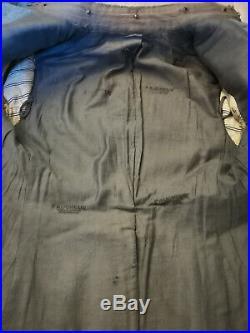 Original Anthentique veste de campagne de général 2 étoiles bleu horizon WW1