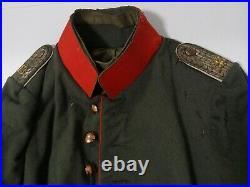 Original WW1 vareuse officier INFANTERIE uniform jacket tunic Rock feldbluse 1WK