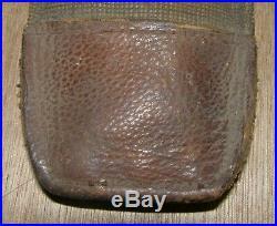 Outil pelle pioche SEURRE modèle 1909 poilu avec étui housse toile datée 1914