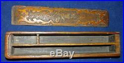 PLUMIER artisanat de tranchée WW1 TRENCH ART WK1 GRABENARBEIT POILU 14-18