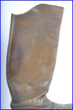 Paire de bottes officier Cavalerie poilu pioupiou Cuirassiers Dragons WW1 14 18