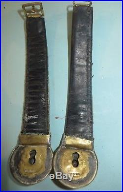 Paire de jugulaires cavalerie, mod. 1872 (Cuirassier, Dragon, Hussard, Chasseur)