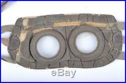 Paire de lunettes de protection contre les gaz + housse de transport pour Tampon
