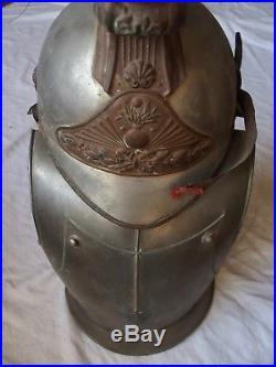 Panoplie, cuirasse et casque de cuirassiers d'enfant 1914