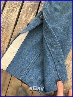 Pantalon Bleu horizon Mle 14 daté 1917 WW1 14-18