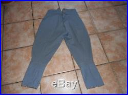 Pantalon Off S/off Bleu Horizon Mle 1916/1918 Liserais Jonquille