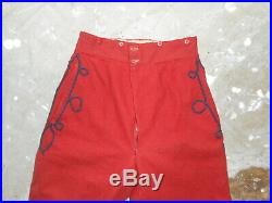 Pantalon Troupe Du 2 De Zouave Mle 1895