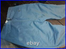 Pantalon bleu horizon premiere guerre mondiale poilus 14 18