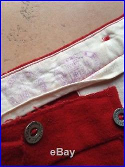 Pantalon piou piou 1914