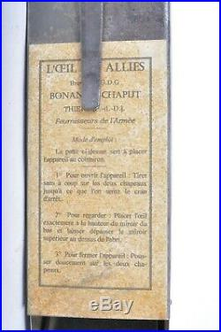 Périscope de tranchées Français L' oeil des Alliés infanterie 14 18 poilu ww1