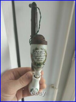 Pipe Allemande des Vosges Gaede wacht am rhein 1915 1914 Ww1 Wk casque ww2