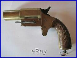 Pistolet Lance Fusées Francais En Bronze
