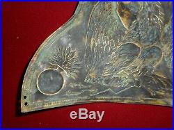 Plaque De Bonnet A Poil Des Grenadier De La Garde Du 1 Empire Mle 1805
