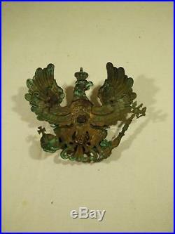 Plaque de casque à pointe du duchée de Brunswick N'92