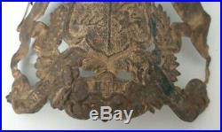 Plaque de casque à pointe wurtemberg mod. 1895