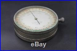 RARE Aviation militaire WW1 Barometre altimetrique de pilote aviateur 14 18