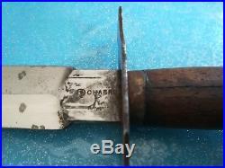 RARE Couteau Le vengeur de 1870, 8 Chabrol. BEL ETAT