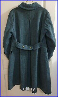 Rare Capote/ Manteau De General Bleu Horizon 14/18 Ww1 poilu Verdun