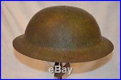 Rare Casque Anglais Brodie War Office Pattern-brodie Steel Helmet War Office 1