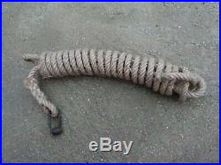 Rare Corde Reglementaire de Selle Cavalerie Francaise Dragon Cuirrassier