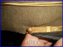 Rare Kepi Fr Off Armee D Orient Artillerie 1916/1920