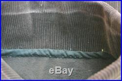 Rare Pantalon-culotte modèle 1914 en velours indigo avec reste de tampon -WW1