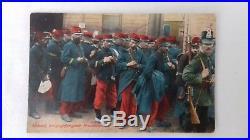 Rare Shako Prussien modèle 1860 de réserviste LANDWEHR 1870/1871 1914/1918