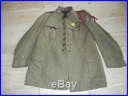 Rare Vareuse Mle 1917/1918 Du 1 Rgt De Spahis